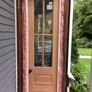 Ruppert Painting, LLC - Middle River, MD. new custom door with insulation