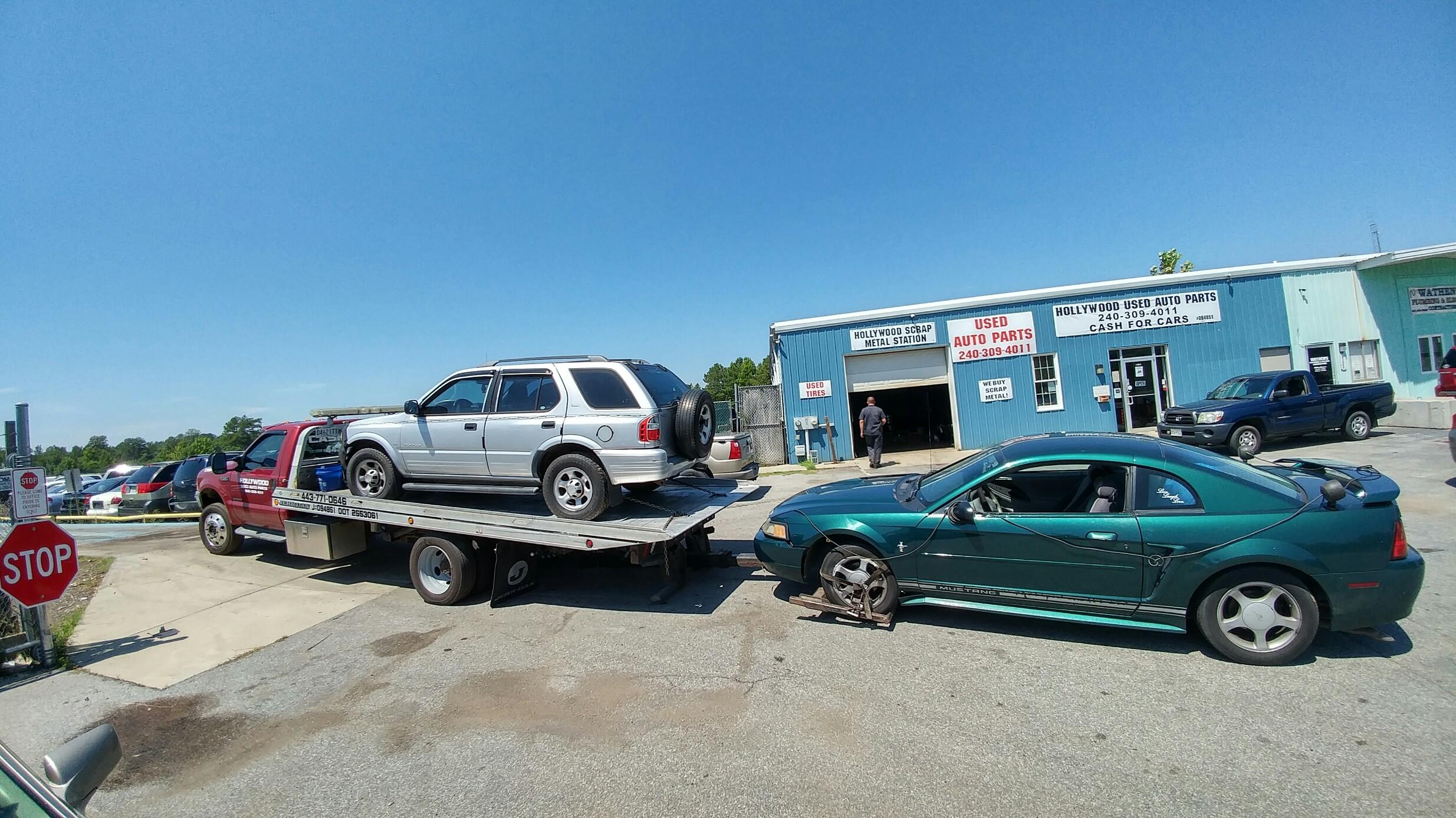 Hollywood Used Auto Parts 43900 Commerce Ave, Hollywood, MD 20636 ...
