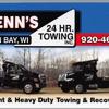 Glenn's 24 Hour Towing Inc