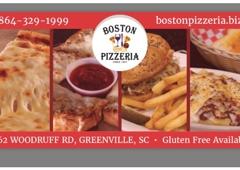 Boston Pizzeria - Greenville, SC