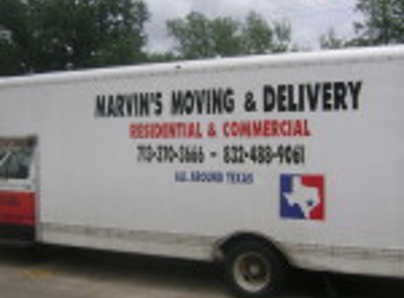 Marvin's Moving and Delivery - Houston, TX