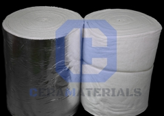 Ceramaterials - Dingmans Ferry, PA. Ceramic Fiber Insulation with or without foil.