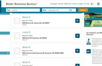 Motel 6 Gainesville GA - Gainesville, GA. From BBB. WOW!!!
