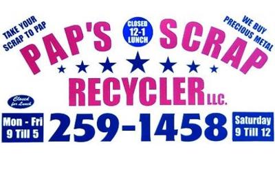 Pap S Scrap Recycler Llc 1164 E Macclenny Ave Macclenny Fl