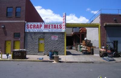 A & A Scrap Metals Inc - Astoria, NY