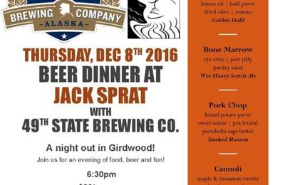 Jack Sprat Restaurant - Girdwood, AK