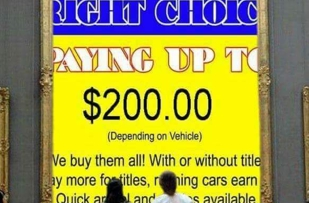 We buy junk cars only with title we are open 24/7 Monday through Saturday  through 3-AM Through 12-AM and we pay up to $200.00 Dollars call 269-999-2431