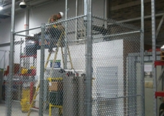 Diamond Fence & Concrete Inc - Fort Worth, TX. Indoor Cages