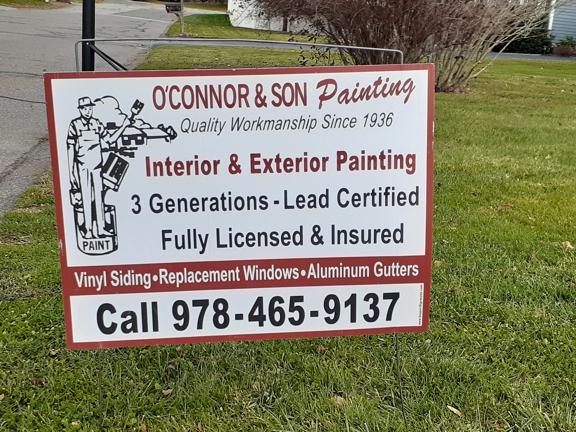 O'Connor & Son Painting Co & Vinyl Siding - Newburyport, MA