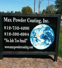 Max Powder Coating Inc - Scottsburg, IN