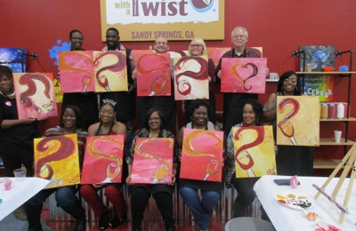 Painting With A Twist 6780 Roswell Rd D 120 Atlanta Ga 30328