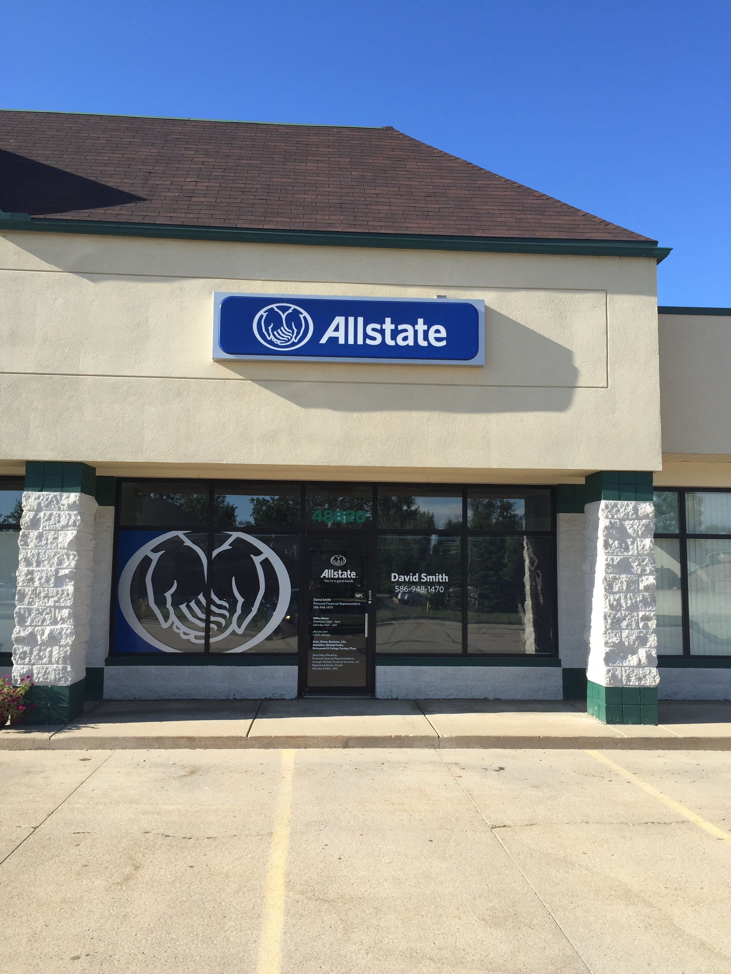 David Smith Allstate Insurance 48820 Gratiot Ave Chesterfield Mi