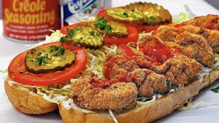 Po'boy from Little Jewel of New Orleans
