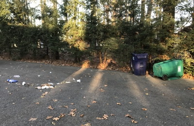 Winters Bros. Waste Systems of CT - Danbury, CT. Driver leaves cans on opposite side of where we store them in our tree line. Garbage all over my driveway.