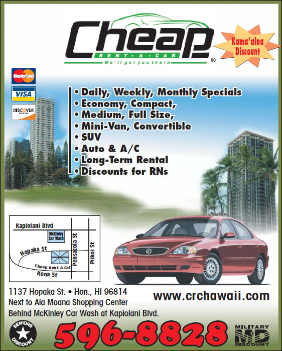 Cheap rent a car 1137 hopaka st honolulu hi 96814 yp phone book solutioingenieria Image collections