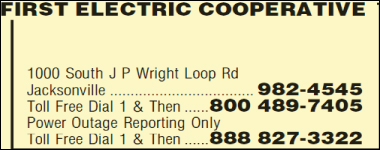 First Electric Cooperative 801 S Fourche Ave Perryville Ar 72126 Yp Com