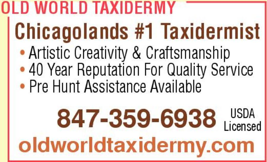 Old World Taxidermy 724 S Plum Grove Rd, Palatine, IL 60067 - YP.com