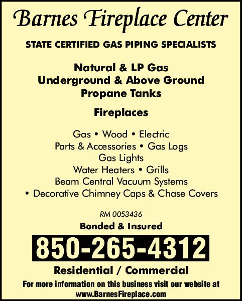 Barnes Fireplace Center Lynn Haven, FL 32444 - YP.com