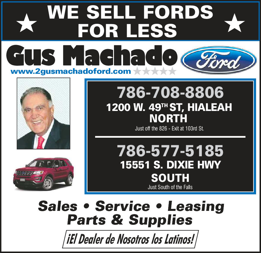 Gus Machado Ford Hialeah >> Gus Machado Ford Of Hialeah Hialeah Fl 33012 Yp Com
