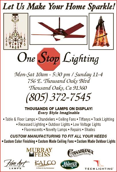One Stop Lighting 756 E Thousand Oaks Blvd Ca 91360